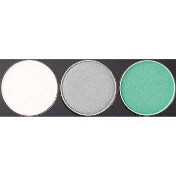 NYX Cosmetics Eyeshadow Trio 2.1g - TS16 Opal-Platinum Silver-Luster