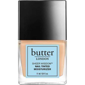 butter LONDON SHEER WISDOM Nail Tinted Moisturizer 11ml - Light