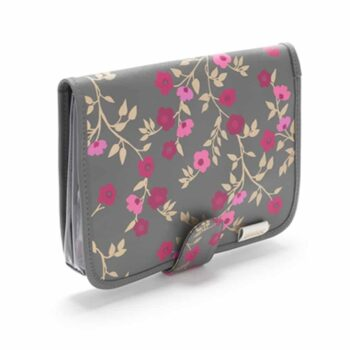 Victoria Green 'Kate' Beauty Clutch Bag - Blossom Charcoal