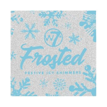 W7 Frosted Festive Icy Shimmers Makeup