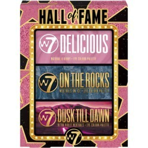 W7 Hall of Fame Eyeshadow Palette Trio
