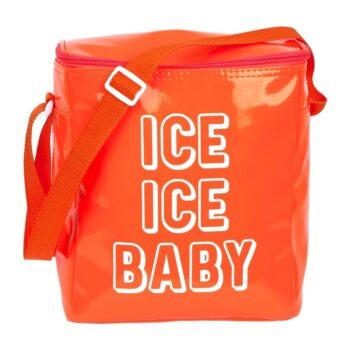 Sunnylife Small Beach Cooler Bag Neon Orange