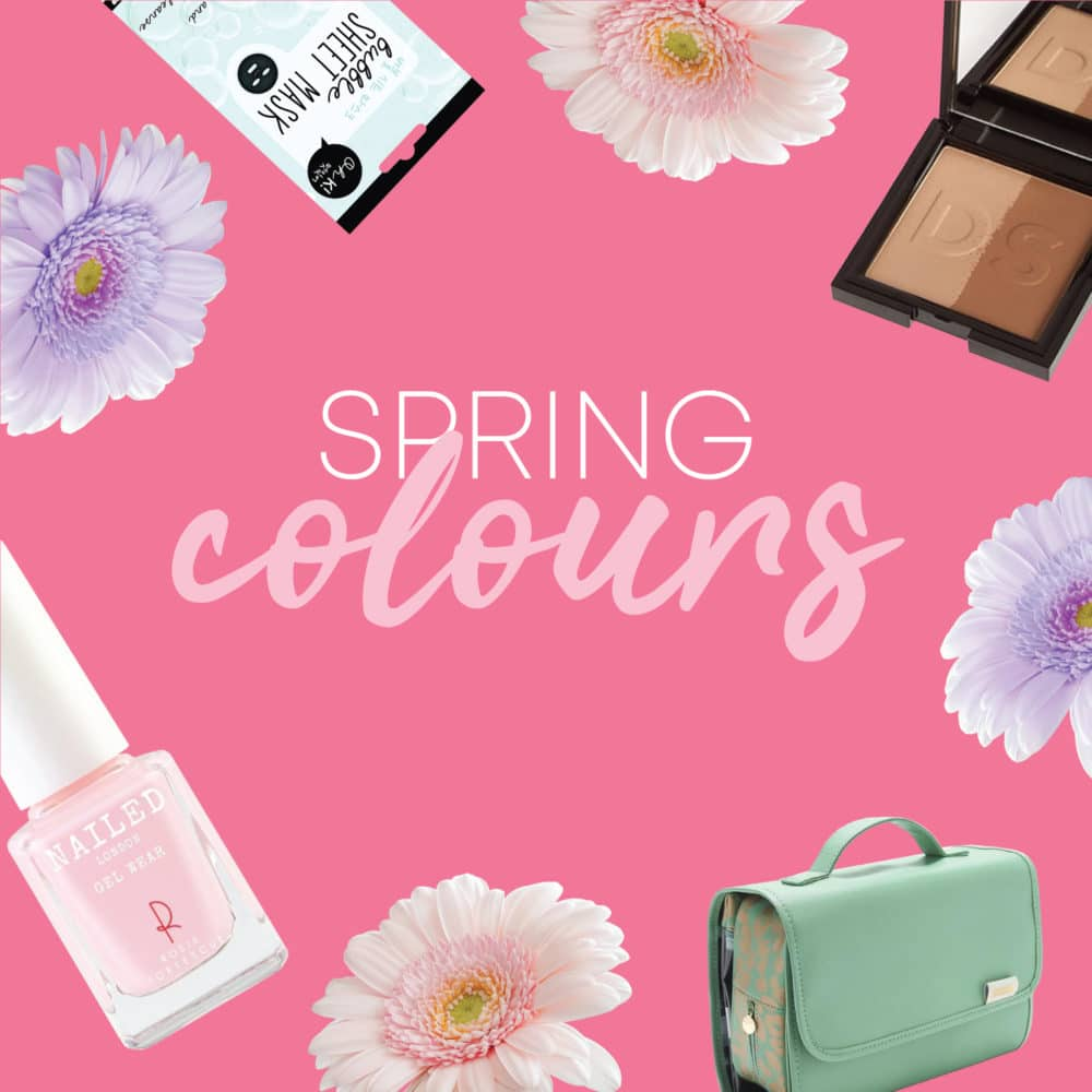 5 Trending Colours for Spring 2019