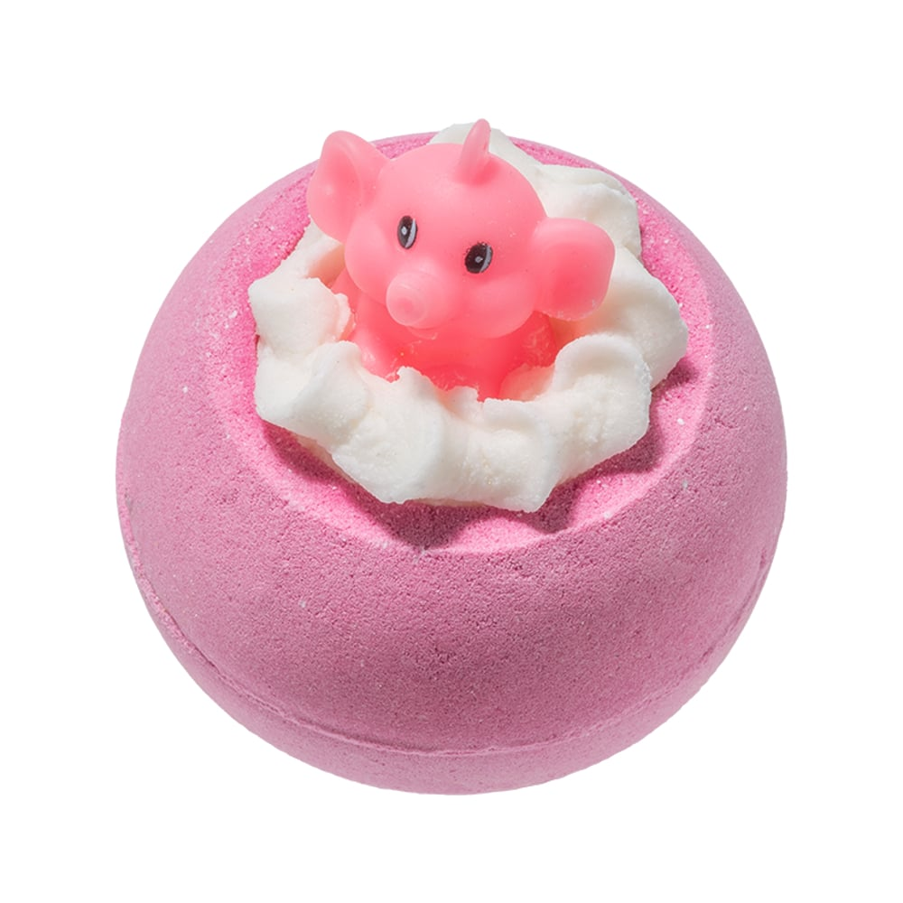 Bomb Cosmetics Pink Elephants & Lemonade Bath Bomb 160g