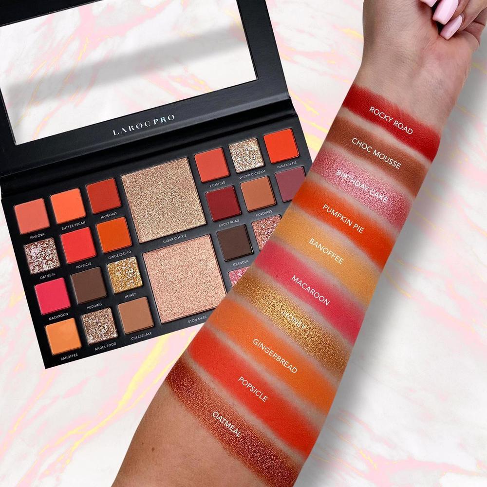 LaRoc Pro 26 Colour Makeup Palette - The Bakery Box 2