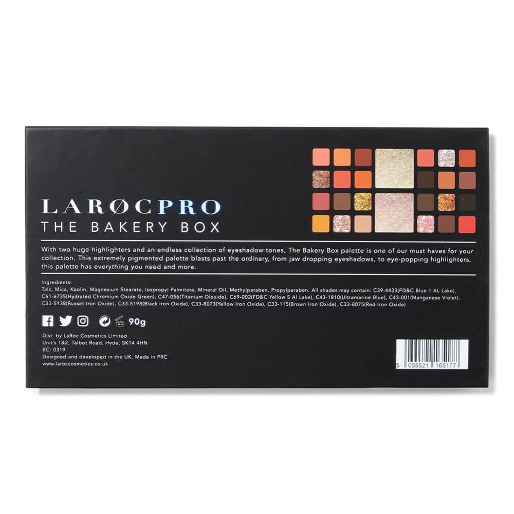 LaRoc Pro 26 Colour Makeup Palette - The Bakery Box 5