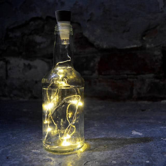 Perfume Bottle Lighting
