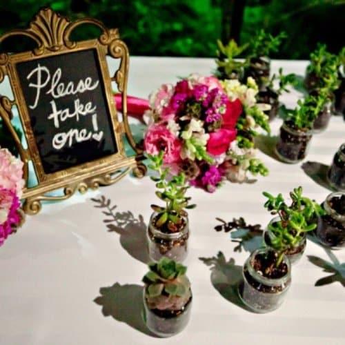 Perfume Bottle Wedding Party Favours