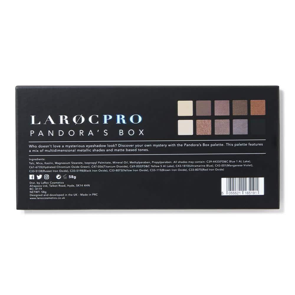 LaRoc Pro 10 Colour Eyeshadow Palette - Pandora's Box 3