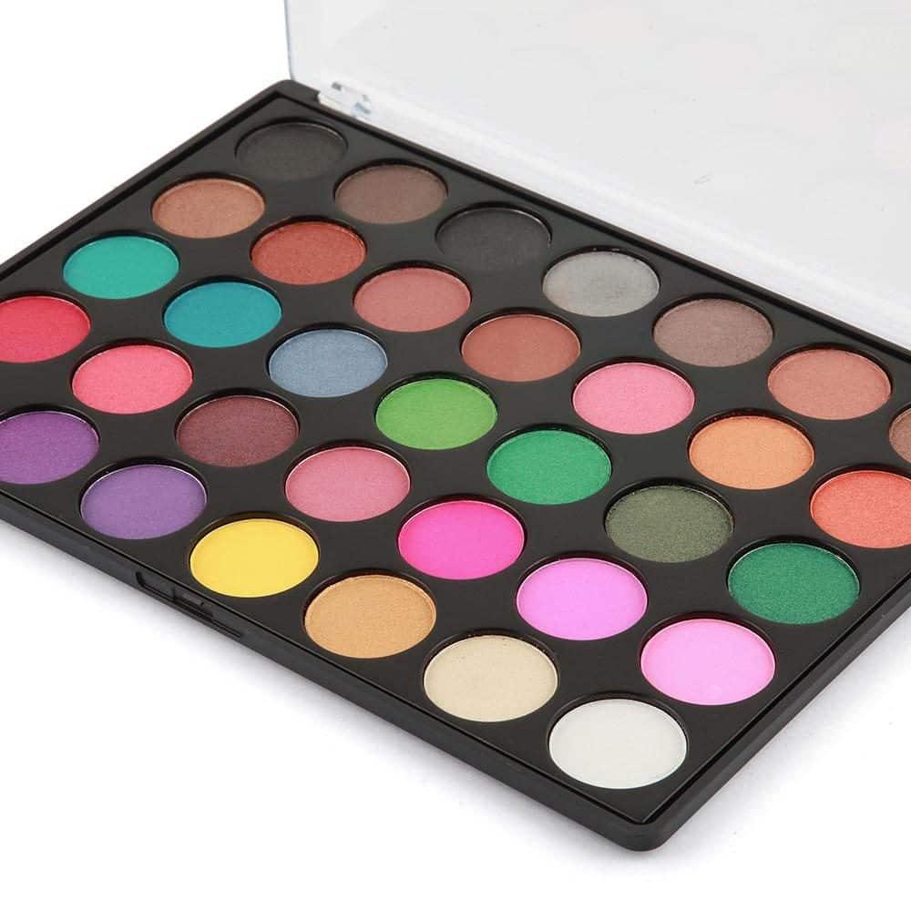 LaRoc 35 Colour Eyeshadow Palette - Plum Party 2