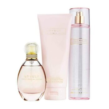 Sarah Jessica Parker Lovely EDP Spray 100ml, Body Lotion 200ml & Body Mist 250ml