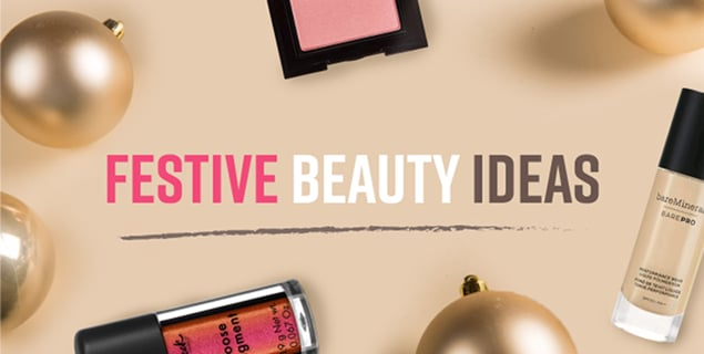Festive Beauty Ideas - Eyeshadow Looks, Hair Styles - Blog Post