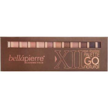 Bellapierre Cosmetics XII Eye Shadow Palette - Go Natural