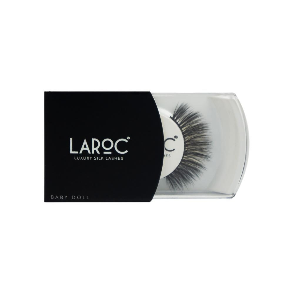 LaRoc Luxury Silk Lashes - Baby Doll 1