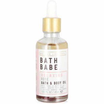 We Live Like This. Bath Babe Rose Bath & Body Oil 45ml