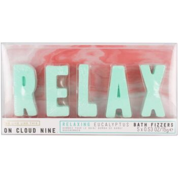 We Live Like This. On Cloud Nine Relax Bath Fizzers