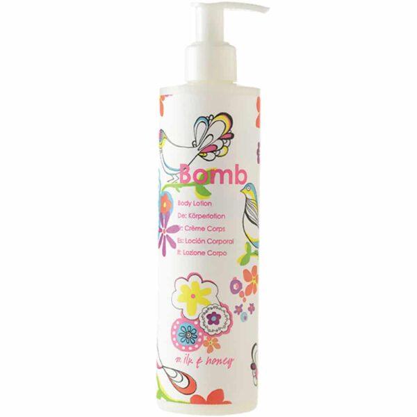 Bomb Cosmetics Milk and Honey Body Lotion 300ml