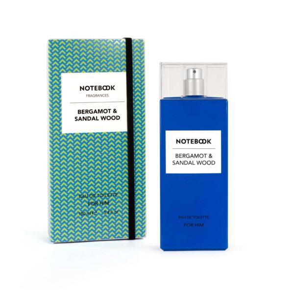 Notebook Bergamot & Sandal Wood for Him Eau de Toilette Spray 100ml