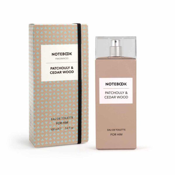Notebook Patchouli & Cedarwood for Him Eau de Toilette Spray 100ml