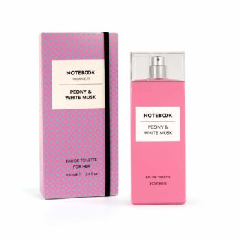 Notebook Peony & White Musk for Her Eau de Toilette Spray 100ml