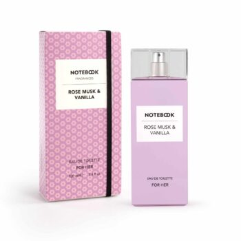 Notebook Rose Musk & Vanilla for Her Eau de Toilette Spray 100ml