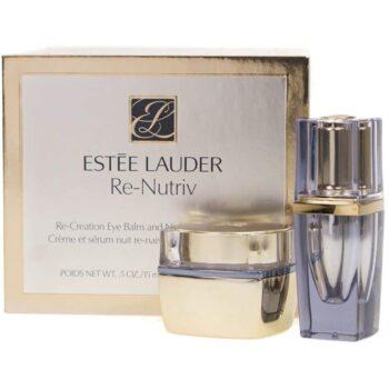 Estee Lauder Re-Nutriv Re-Creation Eye Balm & Night Serum for Eyes Gift Set