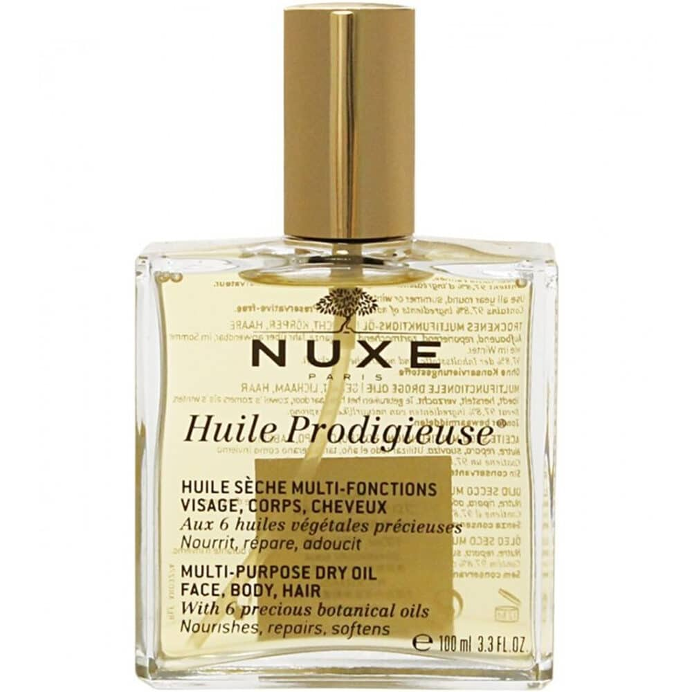 NUXE Huile Prodigieuse Multi-Purpose Dry Oil for Face, Body & Hair 100ml