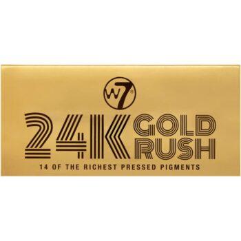 W7 24K Gold Rush Pressed Pigment Palette