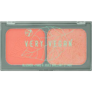 W7 Cosmetics Very Vegan Duo Blusher - Freesia