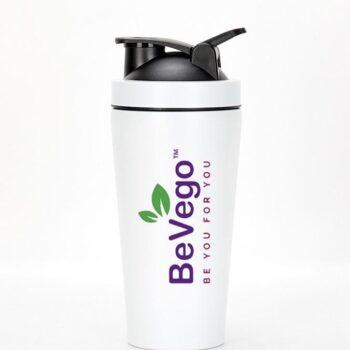 BeVego Protein Shaker Bottle 750ml - Stainless Steel