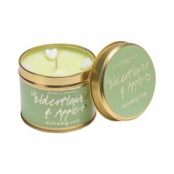 Bomb Cosmetics Elderflower & Apple Tin Candle