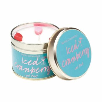 Bomb Cosmetics Iced Cranberry Tin Candle