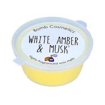 Bomb Cosmetics White Amber & Musk Mini Melt