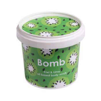 Bomb Cosmetics Kiwi & Lime Oil Body Scrub 365ml