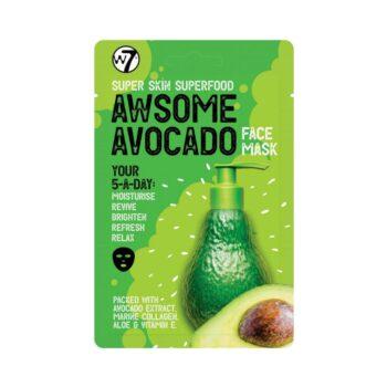 W7 Cosmetics Super Skin Superfood Awesome Avocado Sheet Mask